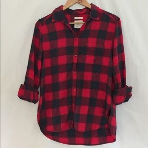 Ahh-mazingly Soft Blue and Red Plaid Flannel